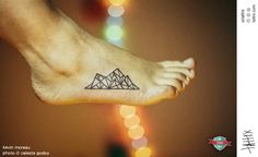 39 Awesome Tattoos For Anyone Who's Happiest Up A Mountain