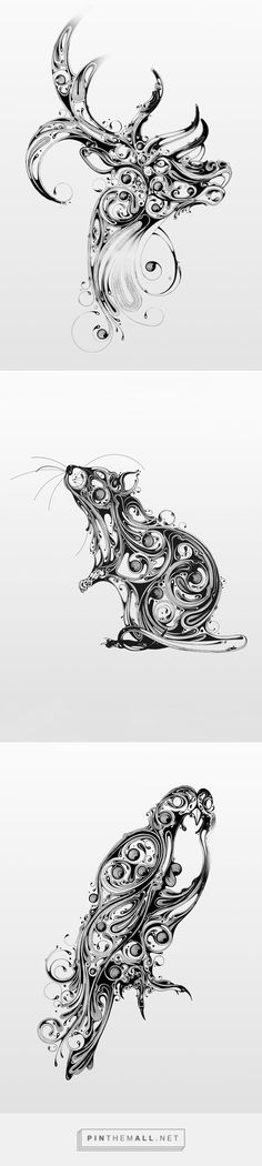 Resonate | Animal Series_01 on Behance - created via http://pinthemall.net