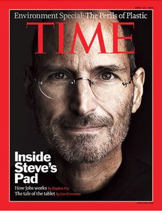 The later Steve Jobs cover in Time magazine