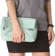 Inspired by the brown paper sack lunch bag ~ Marie Turnor's 'The Lunch Clutch'