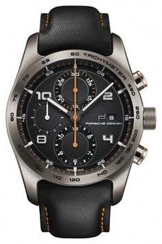 awesome Porsche Design Chronotimer Series 1 Automatic Watch, Titanium, ETA Black just added. Best Watches For Men, Big Watches, Fossil Watches, Stylish Watches, Seiko Watches, Luxury Watches For Men, Sport Watches, Cool Watches, Herren Chronograph