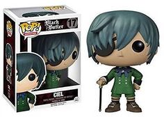 From the Black Butler anime and manga series comes the protagonist in awesome Pop! Vinyl stylization! This Black Butler Ciel Phantomhive Pop! Vinyl Figure stands 3 3/4-inches tall and makes a great gift for collectors of all kinds. When you see just how cool Ciel Phantomhive looks as a Pop! Vinyl Figure, you'll want to collect the rest in this line of Black Butler Pop! Vinyl figures from Funko! #funko #collectible #popvinyl #actionfigure #toy #CielPhantomhive