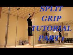 Doctor Ken's Pole Ninja Tutorials--Split Grip Part 1: Grip Series - YouTube