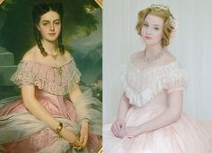 Making a Pink Sateen Ball Gown, 1860's Inspired, Part Four