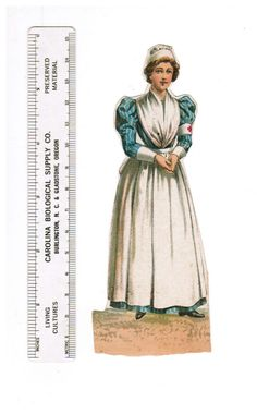 1895 1915 Red Cross Nurse Paper Doll