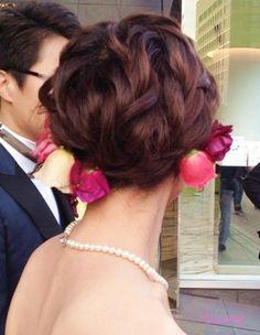 「 キレイ~可愛い☆ショートでチェンジ大成功の花嫁さま 」の画像|大人可愛いブライダルヘアメイク『tiamo』の結婚カタログ|Ameba (アメーバ)