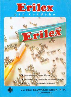 Erilex - zubná pasta | Made in ČSSR