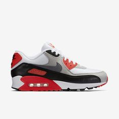 """There's a reason that Nike continues to release the most iconic colorway of Tinker Hatfield's AM90. The infrared colorway is simply timeless. Air Max 90 """"Infrared"""" ($120) by Nike, nike.com"""