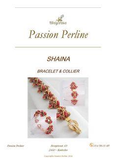 Schéma collier et bracelet SHAINA par PASSIONPERLINE sur Etsy https://www.etsy.com/fr/shop/PASSIONPERLINE?ref=hdr_shop_menu
