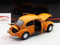 Volkswagen VW 1200 orange 1972 1:18 Minichamps