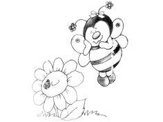 Risco, inseto, joaninha, abelhinha, artesanato, pintura em tecido, modelo