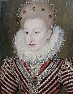 American Duchess:Historical Costuming: V85: Elizabethan Pouf Hairstyles | Historical Costuming and sewing of Rococo 18th century clothing, 16th century through 20th century, by designer Lauren Reeser