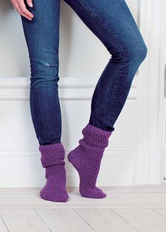 My Socks in MillaMia Naturally Soft Merino. Find this pattern and more inspiration at LoveKnitting.Com.