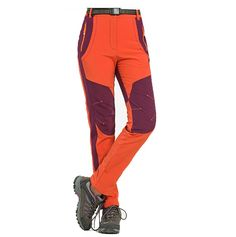 Going hiking in the winter, need to stay dry & warm. Get this Winter Men Women Hiking Pants Outdoor Soft shell Trousers Waterproof Windproof Thermal Pants. Sports Trousers, Sport Pants, Cargo Pants, Yoga Pants, Best Hiking Pants, Men Hiking, Hiking Shoes, Camping Pants, Winter Hiking