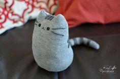 Кот из носка