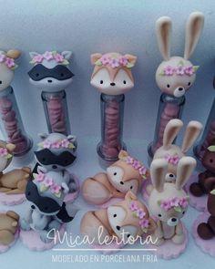 1 million+ Stunning Free Images to Use Anywhere Polymer Clay Animals, Cute Polymer Clay, Clay Crafts, Diy And Crafts, Arts And Crafts, Boho Baby Shower, Valentines Day Party, Woodland Party, Sculpture Clay