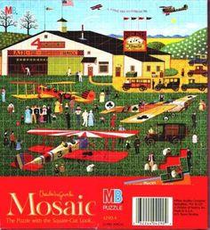 Charles Wysocki Four Aces Flying School Mosaic Square Cut Puzzle Charles Wysocki http://www.amazon.com/dp/B0029PVSNC/ref=cm_sw_r_pi_dp_i5TWtb0YB7C0CTJ8