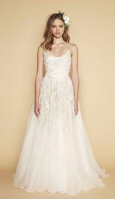 Featured Dress: Sabrina Dahan; Wedding dress idea.