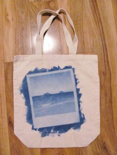 15 Retro Polaroid Inkodye Totes by SetSailAccessories on Etsy