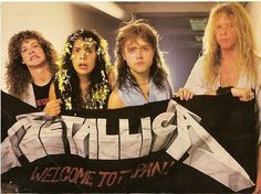 metallica, James Hetfield, and Jason Newsted