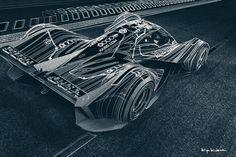 Using 3D models to create art prints. Concept car, Lemans Prototype