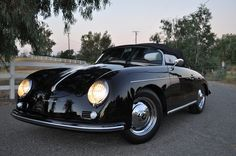 There aren't many people in the world who'll argue that the Porsche Speedster isn't one of the most beautiful cars of the 20th century.