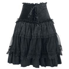 layering tulle &lace skirt