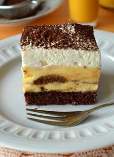 Polish Desserts, Polish Recipes, No Bake Desserts, Chocolate Ganache Tart, Good Food, Yummy Food, Sweets Cake, Food Cakes, Let Them Eat Cake