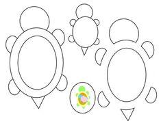 Turtle_Family_Felt_Keychain_Pattern by ~Aikisune on deviantART