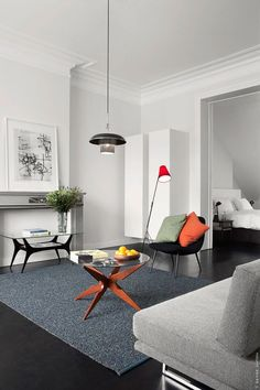 Dark Floors: A Dramatic And Elegant Detail That Can Be Adapted To A Multitude Of Decors