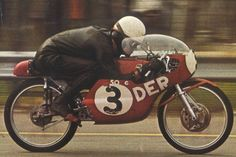 1962, GP de España, Barcelona. Categoría de 50cc. J.Mª Busquets