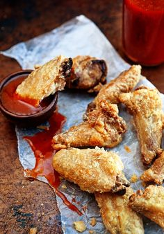 The secret to oven-baked chicken wings that are just as crispy, crunchy and delicious as fried lies in one ingredient.