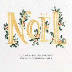Paperless Post | Rifle Paper Co. | Noel More