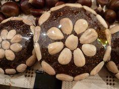 Fromage de figue ou fromage de mai à base de figues secs et amandes ((Algarve-Portugal)