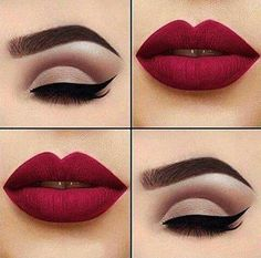 Eye is a must in any girl's makeup repertoire - Make Up 2019 Makeup Trends, Makeup Inspo, Makeup Inspiration, No Make Up Make Up Look, Eye Make Up, Cute Makeup, Pretty Makeup, Pin Up Makeup, Perfect Makeup