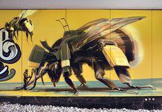 Wes 21: speelse muurschilderijen die doen dromen