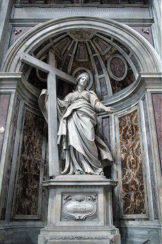 Svatá Helena (1629-1639) Andrea Bolgi