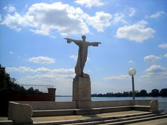"""Photo: the Titanic Memorial located on the Southwest Waterfront in Washington, D.C. Credit: AgnosticPreachersKid; Wikimedia Commons. Read more on the GenealogyBank blog: """"Women's Titanic Memorial Fund."""" https://blog.genealogybank.com/womens-titanic-memorial-fund.html"""