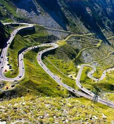 Transfagarasan,one of the most spectacular roads in the world,