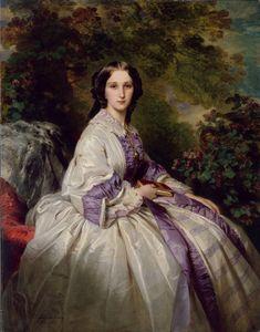 F. X. Winterhalter, Countess Alexander Nikolaevitch Lamsdorff, 1859