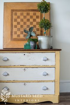 two-tone dresser - Miss Mustard Seed
