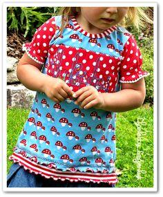Charlotte Fingerhut.: Glückspilziges Basic-Shirt [#Allerlieblichst]