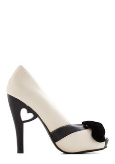 Piece of My Heart Heel, #ModCloth  Oh I just fell in Love!!!  $59.99