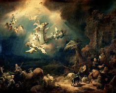 """PELLEGRINO LUIGI sur Twitter: """". Govert Flinck Teunisz anges annonçant la naissance du Christ aux bergers 1639 🎼 ♫ https://t.co/FmogZXCDtH Mon ... par # hr130130 via @ c0nvey https://t.co/H2w0hv8fWp"""""""