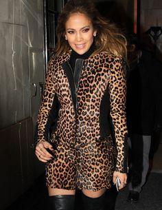 How Much? Steal Jennifer Lopez's Leopard Print Look