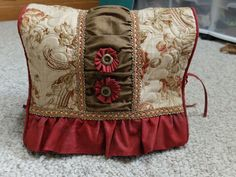 Home Dec. Sewing >> Singer Featherweight Cover Tutorial