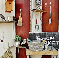 Feeling thrifty? Transform old doors into a rustic-chic folding screen with this DIY from @Thistlewood Farm.