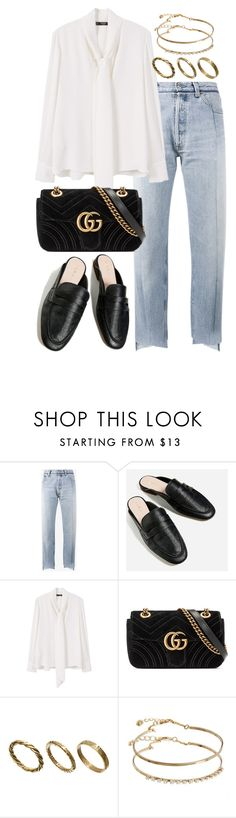"""""""Untitled #2769"""" by theeuropeancloset on Polyvore featuring Vetements, MANGO, Gucci, Made and ASOS"""