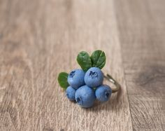 Berry jewelry  blueberry ring  blueberry by GentleDecisions, $25.00