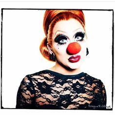 Bianca Del Rio by Magnus Hastings. Bianca gives me LIFE! #EroticClownRealness